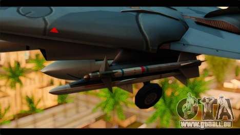 Grumman F-14D SuperTomcat Metal Gear Ray pour GTA San Andreas vue de droite