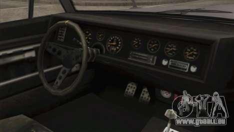 GTA 5 Declasse Stallion IVF pour GTA San Andreas vue de droite