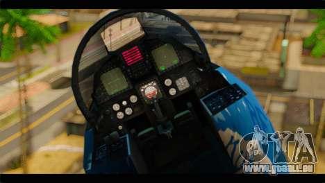 F-15E 303rd TFS Fighting Dragons pour GTA San Andreas vue arrière