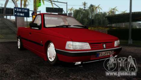 Peugeot 405 Pickup für GTA San Andreas