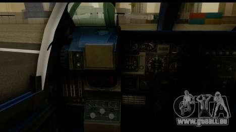 Northrop Grumman EA-6B ISAF für GTA San Andreas Innenansicht