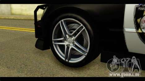 Toyota Altezza Police für GTA San Andreas zurück linke Ansicht