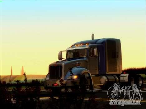 Peterbilt 386 pour GTA San Andreas laissé vue
