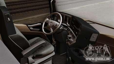 Mercedes-Benz Actros MP4 Euro 6 IVF pour GTA San Andreas vue de droite