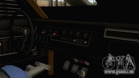 GTA 5 Imponte Dukes ODeath IVF pour GTA San Andreas vue arrière