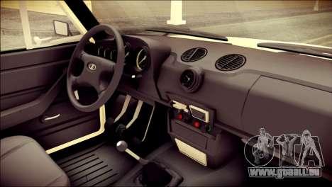 VAZ 2106 Stoke für GTA San Andreas rechten Ansicht