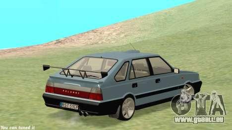 Daewoo FSO Polonez Caro Plus ABC 1999 pour GTA San Andreas vue intérieure