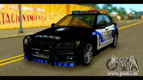 Toyota Altezza Police pour GTA San Andreas