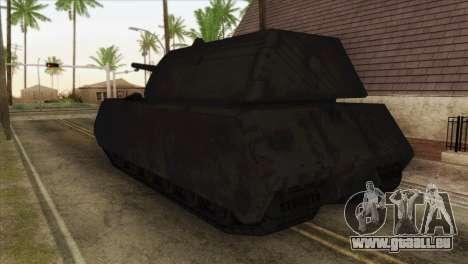 Panzerkampfwagen VIII Maus pour GTA San Andreas laissé vue