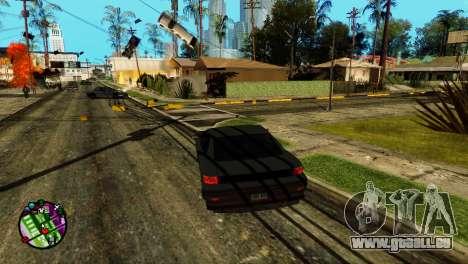 Transport-V2 statt Kugeln für GTA San Andreas zweiten Screenshot