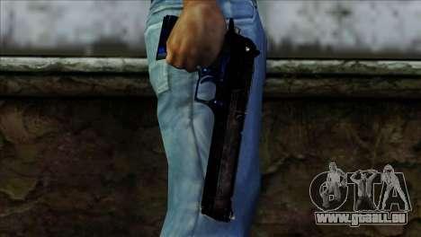 Desert Eagle Estonia pour GTA San Andreas troisième écran