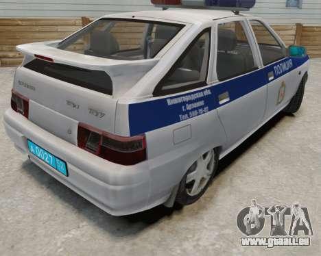 VAZ 2112 DPS für GTA 4 Innenansicht