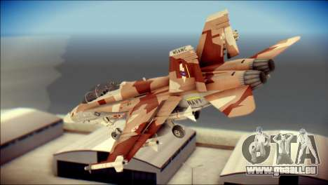 F-22 Raptor Starscream für GTA San Andreas linke Ansicht