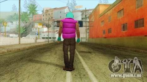 Hotline Miami Biker für GTA San Andreas zweiten Screenshot