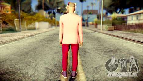 Skin Kawaiis GTA V Online v2 für GTA San Andreas zweiten Screenshot