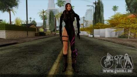 Jessica Sherawat from Resident Evil Revelations für GTA San Andreas