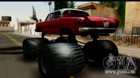 Monster Glendale für GTA San Andreas linke Ansicht
