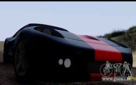 Bullet PFR v1.1 HD pour GTA San Andreas vue de droite
