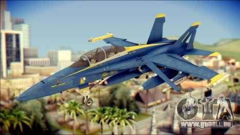 FA-18D Hornet NASA pour GTA San Andreas