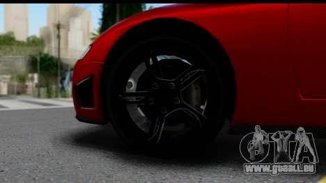 GTA 5 Overflod Entity XF pour GTA San Andreas vue arrière