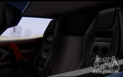 Bullet PFR v1.1 HD pour GTA San Andreas vue de dessous