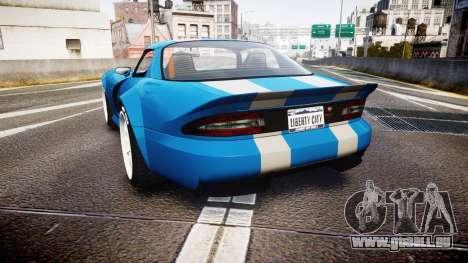 Bravado Banshee Double Stripe pour GTA 4 Vue arrière de la gauche