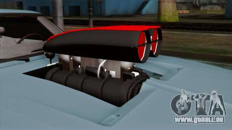 Dodge Charger RT 1970 pour GTA San Andreas vue arrière