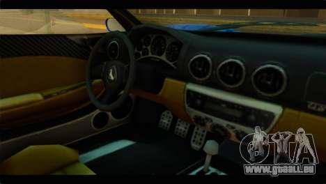 GTA 5 Grotti Turismo pour GTA San Andreas vue de droite