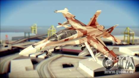 F-18D NSAWC für GTA San Andreas