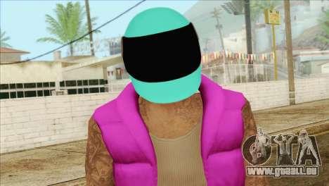 Hotline Miami Biker für GTA San Andreas dritten Screenshot