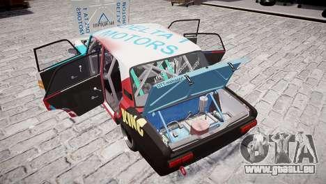 VAZ 2101 für GTA 4 Unteransicht