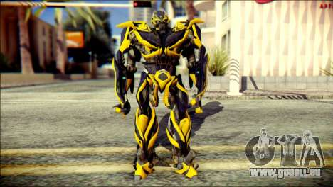 Bumblebee Skin from Transformers für GTA San Andreas