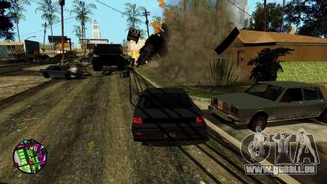 Transport V2 au lieu de balles pour GTA San Andreas septième écran