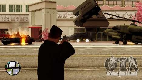 Transport V2 au lieu de balles pour GTA San Andreas douzième écran