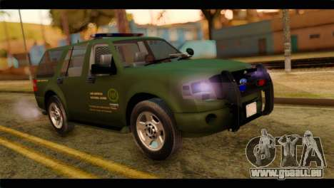 Ford Expedition 2009 SANG pour GTA San Andreas