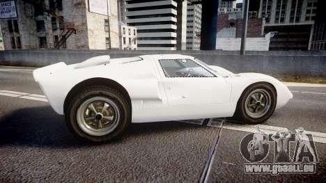 Ford GT40 Mk2 1966 pour GTA 4 est une gauche