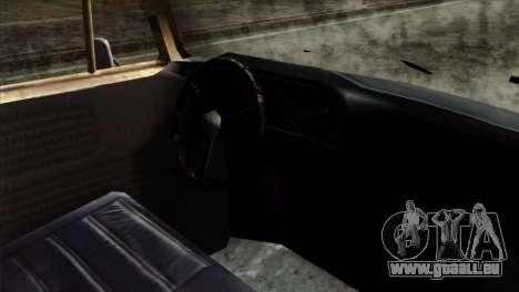 Volkswagen T2 Bob Marley für GTA San Andreas rechten Ansicht
