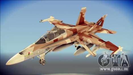 F-22 Raptor Starscream pour GTA San Andreas