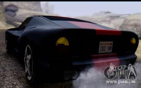 Bullet PFR v1.1 HD für GTA San Andreas Innenansicht