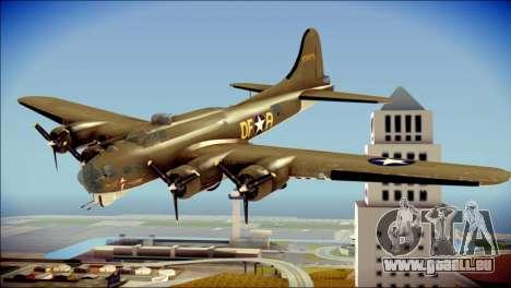 B-17G Flying Fortress für GTA San Andreas