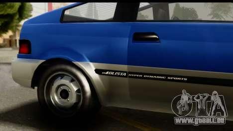 GTA 5 Dinka Blista Compact IVF pour GTA San Andreas vue de droite