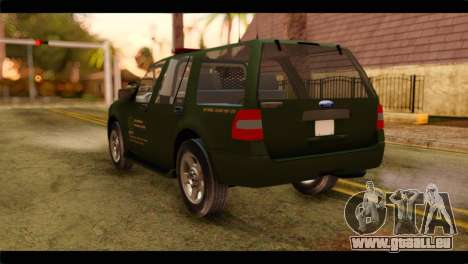 Ford Expedition 2009 SANG für GTA San Andreas linke Ansicht