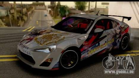 Toyota GT86 Itasha für GTA San Andreas