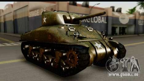 M4A1 Sherman First in Bastogne für GTA San Andreas