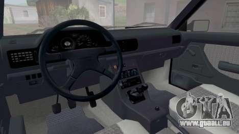 Daewoo FSO Polonez Caro Plus ABC 1999 pour GTA San Andreas vue de dessous