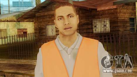 Takedown Redsabre NPC Shipworker v2 für GTA San Andreas dritten Screenshot