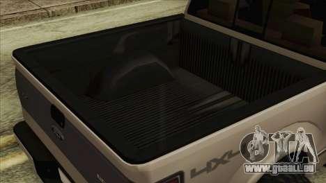Ford F-150 Platinum 2013 4X4 Offroad für GTA San Andreas rechten Ansicht