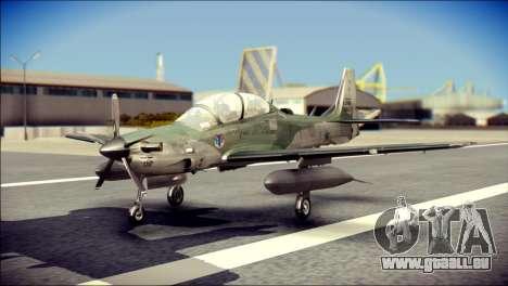 Embraer EMB-314 Super Tucano E pour GTA San Andreas