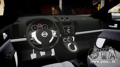 Nissan Altima 3.5 SE für GTA 4 Innenansicht