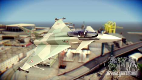 EuroFighter Typhoon 2000 Hungarian Air Force pour GTA San Andreas